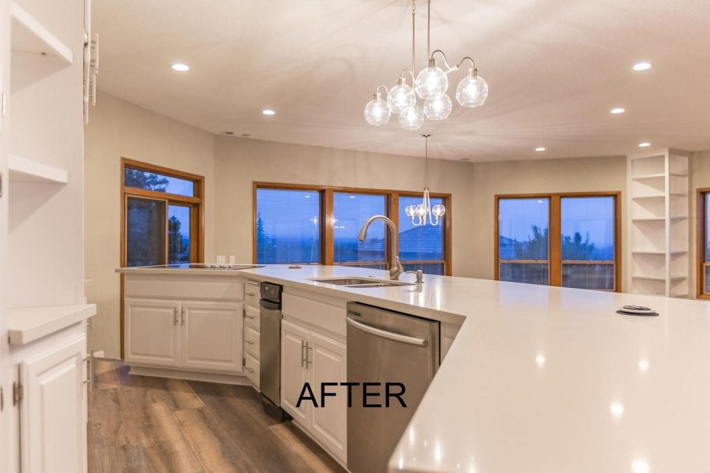 El Dorado County kitchen remodel - after