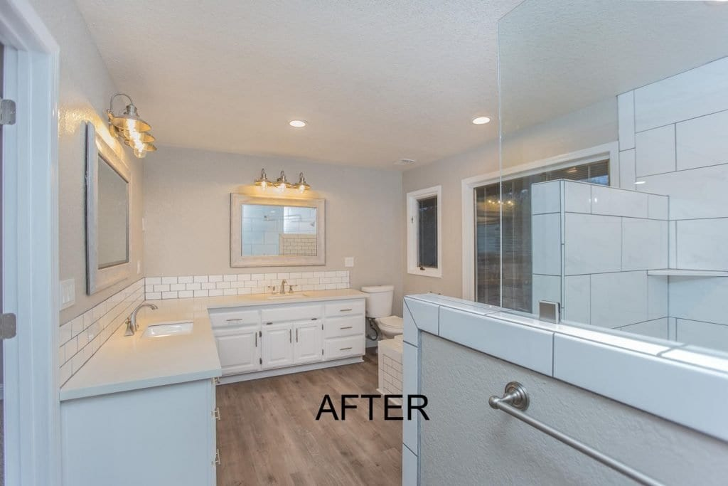 El Dorado County Bathroom Remodel - after