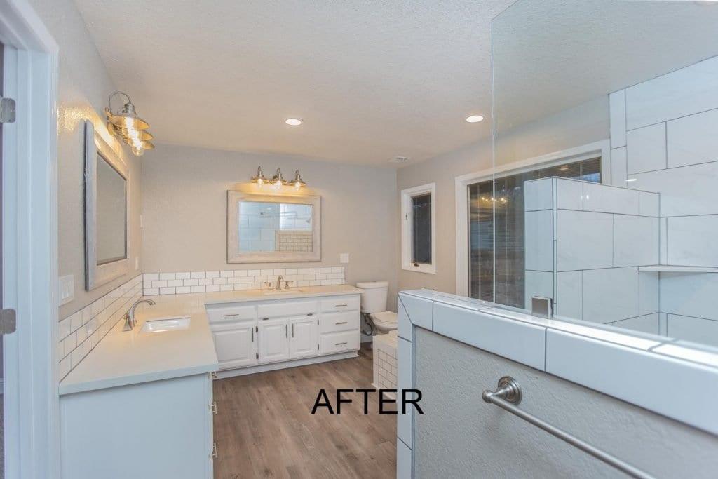 El Dorado County Bathroom Remodel - after